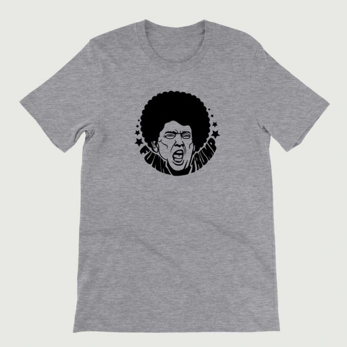 Retro Vintage Anti Legend Funk Trump mens (Unisex) T-shirt Athletic Heather