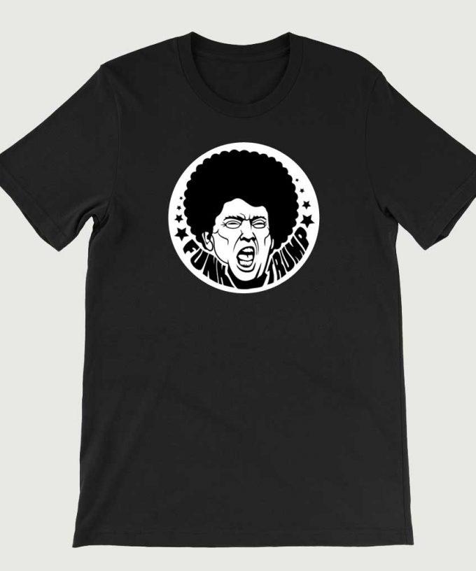 Retro Vintage Anti Legend Funk Trump mens (Unisex) T-shirt Black