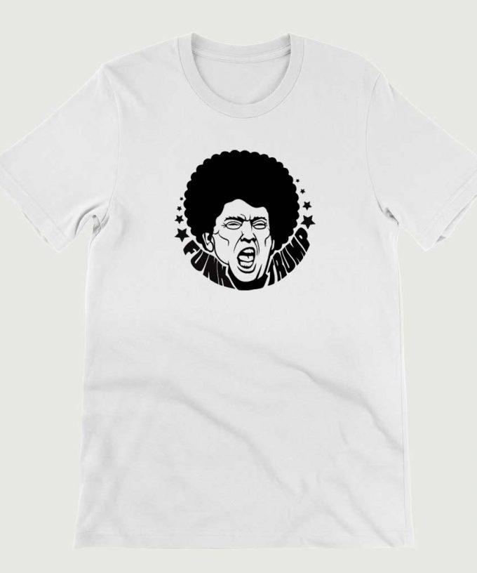 Retro Vintage Anti Legend Funk Trump mens (Unisex) T-shirt White