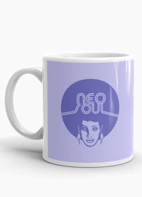 Neo Soul music lover coffee mug