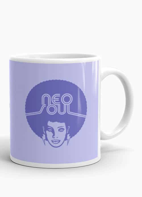 Neo Soul music lover coffee mug