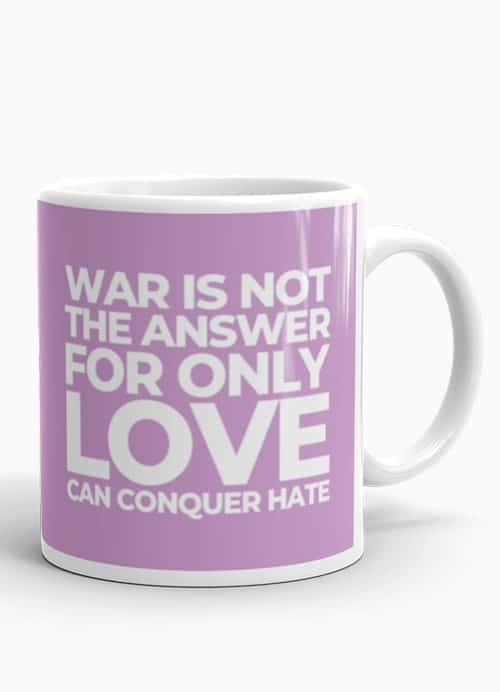 Marvin Gaye Coffee Mug War is not the answer
